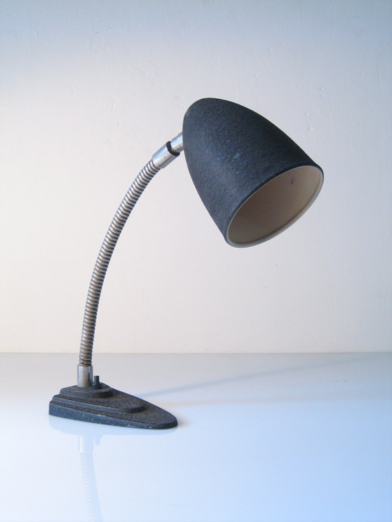 Bauhaus metal industrial desk light