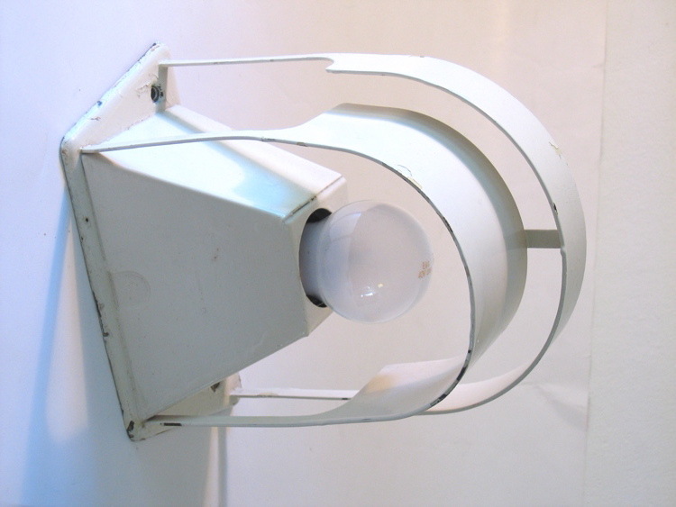 Bauhaus style industrial metal wall lamp