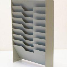 Bauhaus style vintage envelop tray