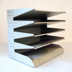 Bauhaus style vintage retro paper tray