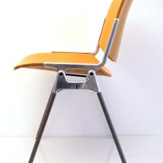 Castelli vintage plywood chair designed by Giancarlo Piretti