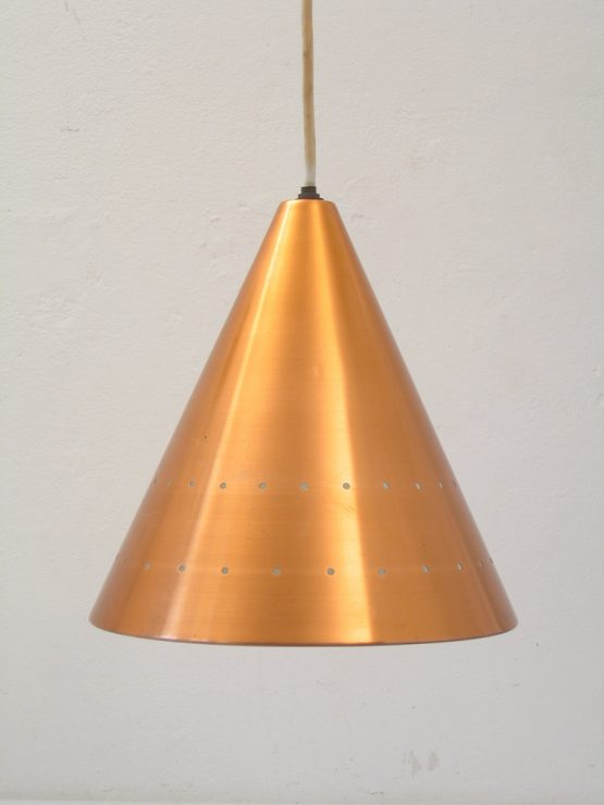 Copper Fog & Murop sixties vintage hanging lamp