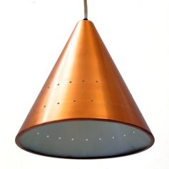 Copper Fog & Murop sixties vintage pendant lamp