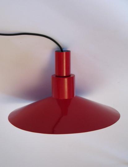 Danish Henningsen style scandinavian vintage pendant lamp