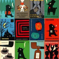 Dick Bruna sixties paperbacks