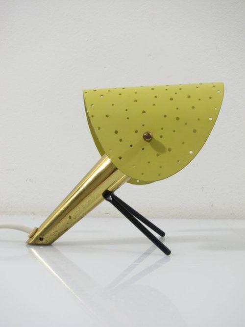 Ernest Igl vintage metal design table or wall lamp