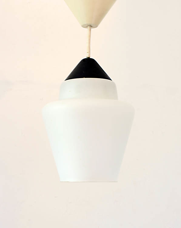Fifties Louis Kalff sixties Philips vintage pendant lamp