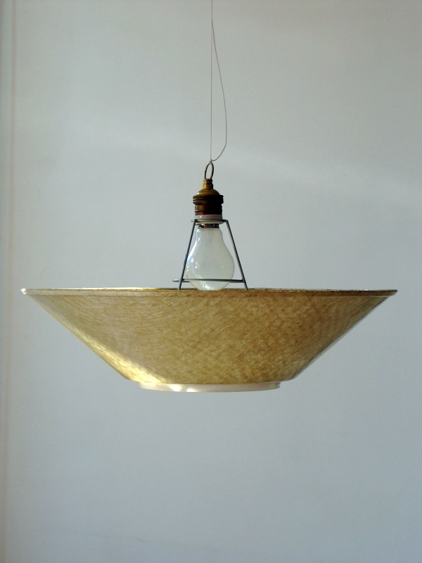 Fifties Philips vintage fiberglass lamp