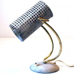 Fifties Pilastro Mategot style vintage desk lamp