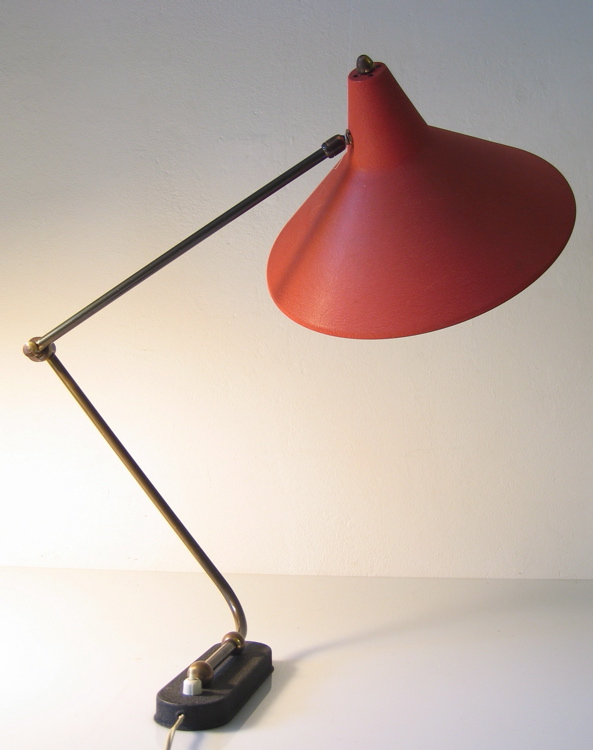 Fifties adjustable vinatge design wall lamp