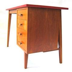 Fifties childrens vintage retro wooden desk
