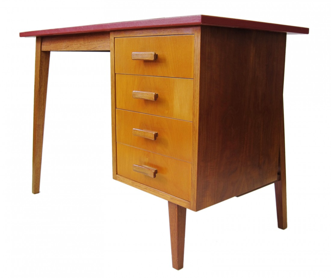 - Fifties Childrens Vintage Retro Wooden Desk