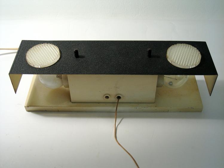 Fifties retro design vintage bedside lamp