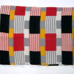 Fifties retro woolen blanket