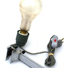 Fifties vintage industrial studio clamp lamp