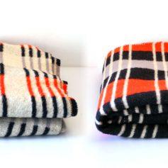 Fifties vintage wool blanket