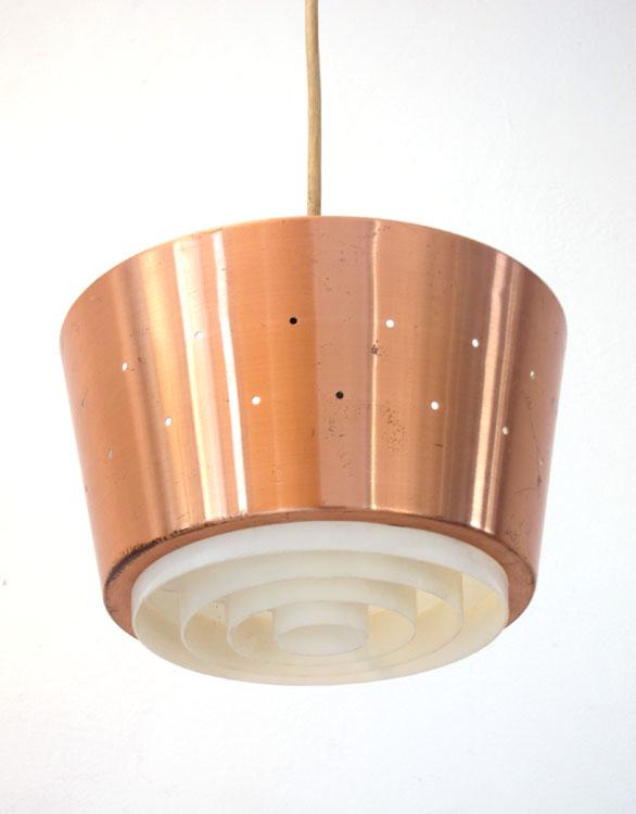 Fog & Morup sixties metal design pendant lamp