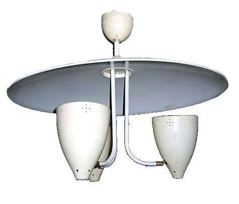 Gino Sarfatti fifties vintage retro pendant lamp