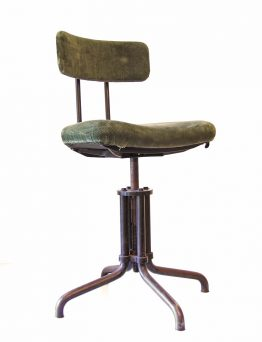 Gispen 1930s vintage industrial desk chair