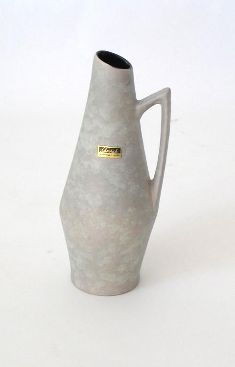 Grey Fifties ceramic vase