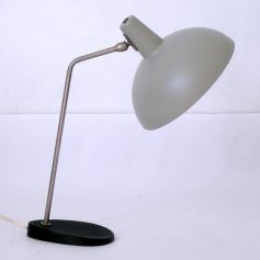 Grey fifties vintage desk lamp