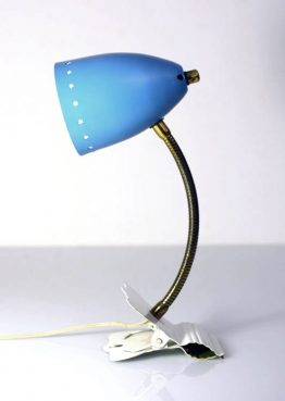 Hala, Busquet fifties blue and white multi-functional lamp