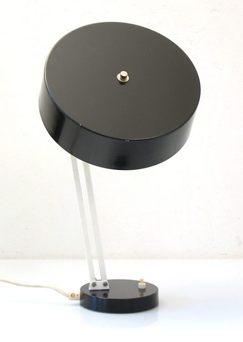 Hala Busquet sixties black vintage desk light