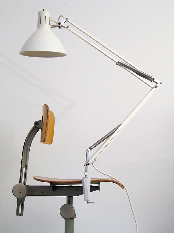 Hala Busquet sixties retro dutch vintage desk lamp
