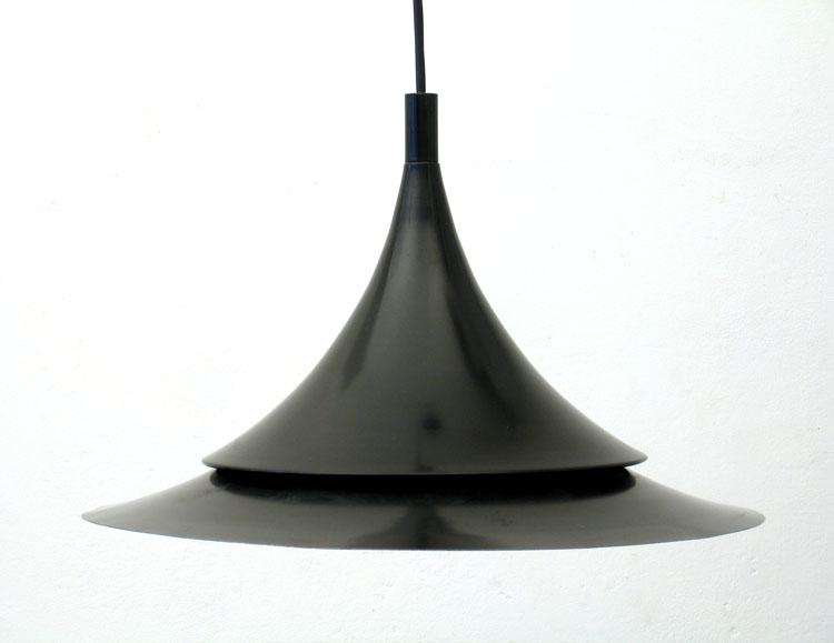 Hans Agne Jakobsson sixties aluminium pendant lamp