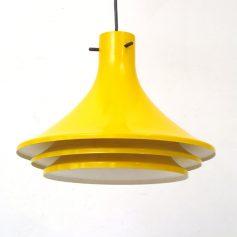 Hans Agne Jakobsson yellow sixties Svera pendant lamp