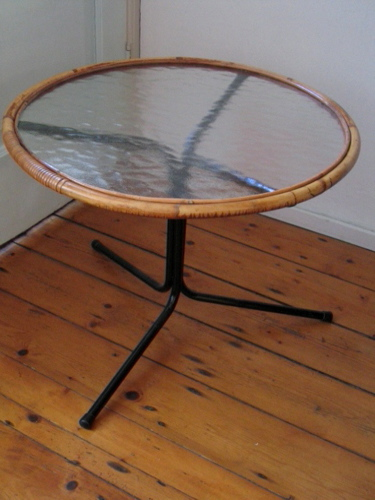 Rohe fifties cane table