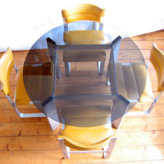 Ilmari Lappalainen Pulkka vintage dining table and 4 chairs