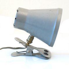Industrial fifties metal vintage clamp lamp