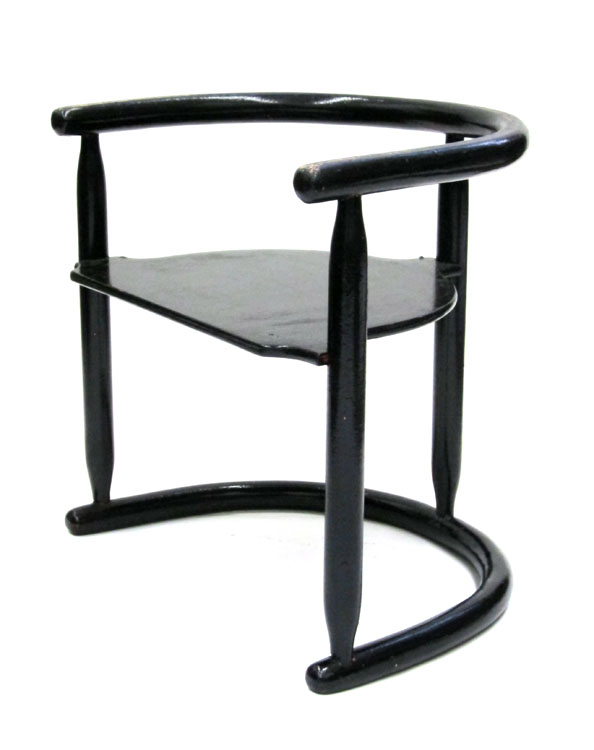 Josef Hoffmann style vintage child's chair