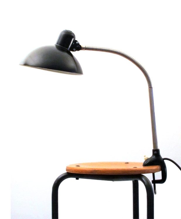 kaiser idell vintage task lamp bauhaus 6740. Black Bedroom Furniture Sets. Home Design Ideas