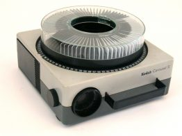Kodak Carousel S vintage retro slide projector