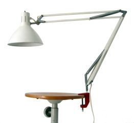 Large Busquet Hala vintage sixties vintage task light