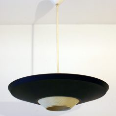 Large Louis Kalff Philips retro pendant lamp