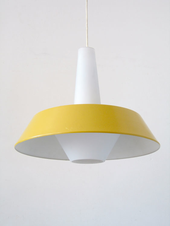 large louis kalff sixties retro philips pendant lamp