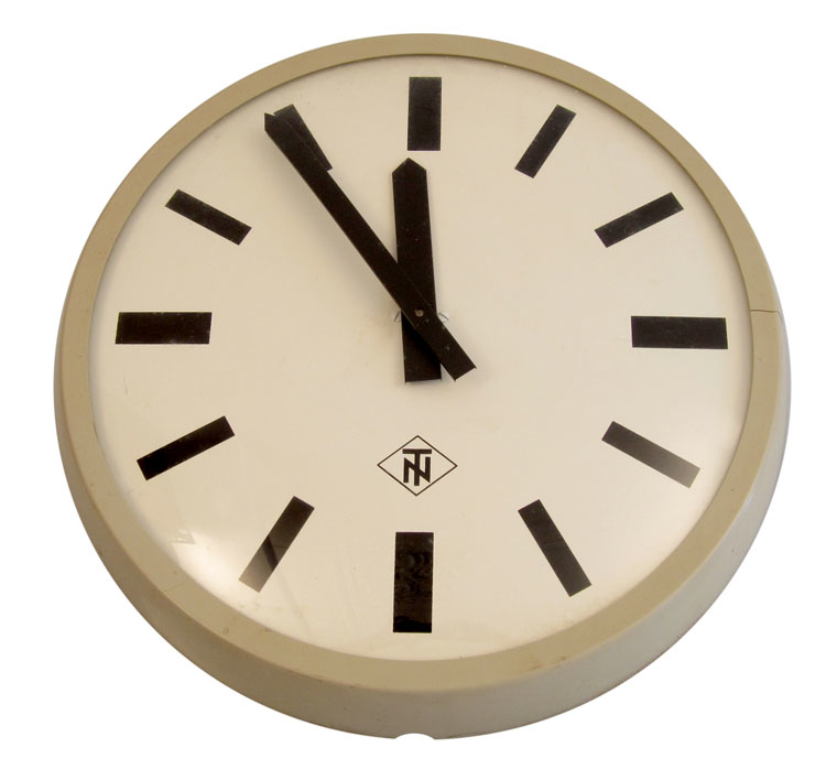 Large Sixties retro clock