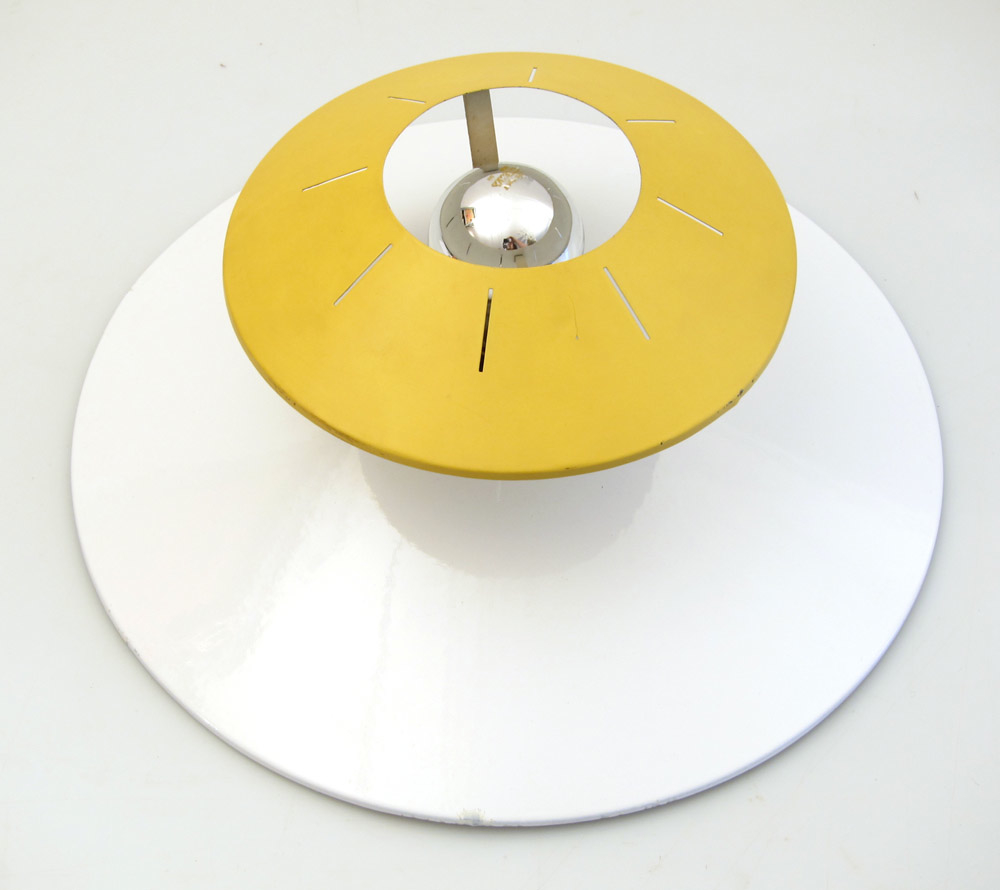 Louis Kalff Philips fifties retro ceiling lamp