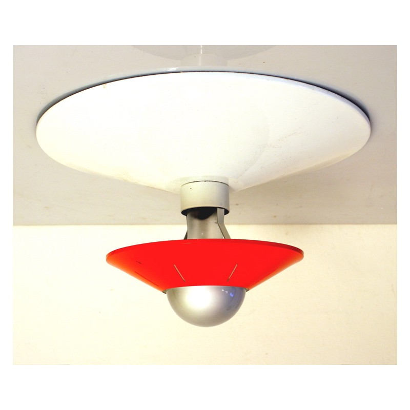 Louis Kalff Philips retro fifties ceiling lamp
