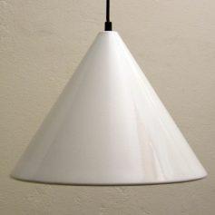Louis Poulsen fifties vintage enamel pendant lamp