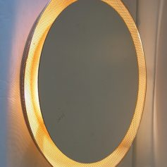 Mategot vintage 50s extra large boutique mirror with lights design-furniture-retro