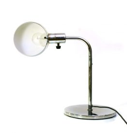 Metalarte vintage chrome table lamps
