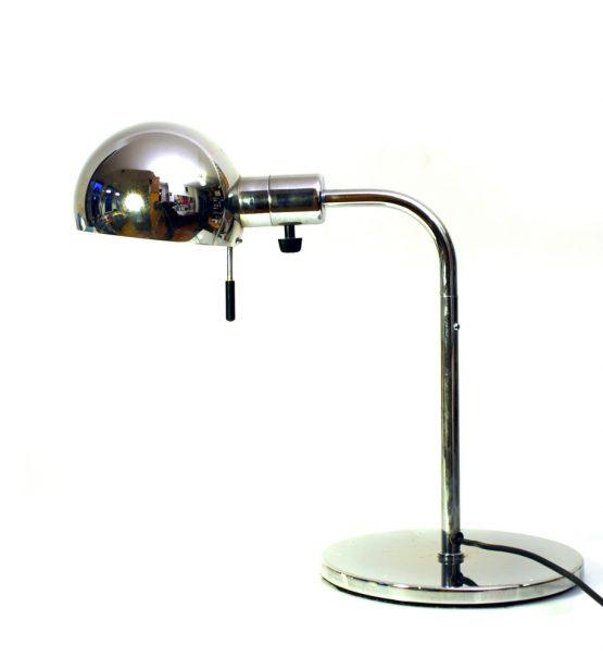 Metalarte design chrome table lamps