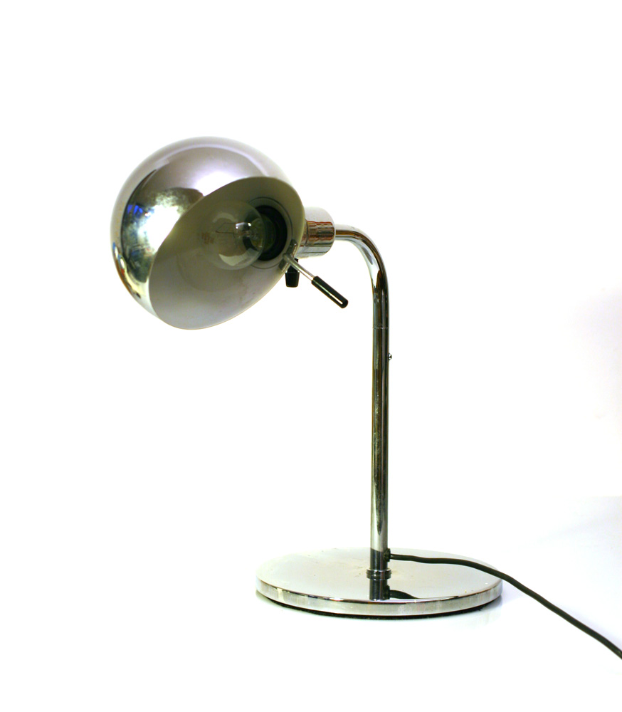 Metalarte sixties chrome table lamps