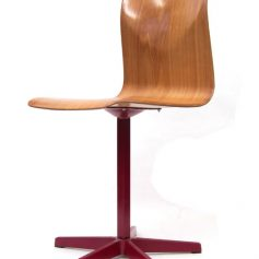 Pagholz industrial plywood chair, 60s, vintage retro
