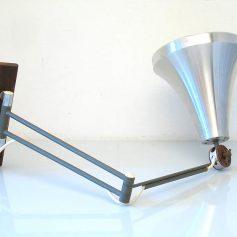 Philips Louis Kalff retro vintage adjustable wall lamp