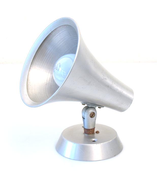 Philips Louis Kalff sixties aluminium spot lamp